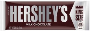 HERSHEY MILK CHOCOLATE KING SIZE 2.6 OZ