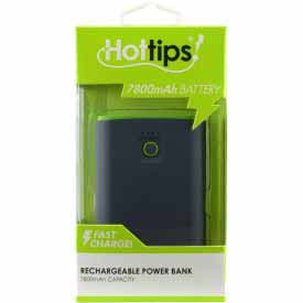 7500MAH POWER BANK BLACK/GREEN