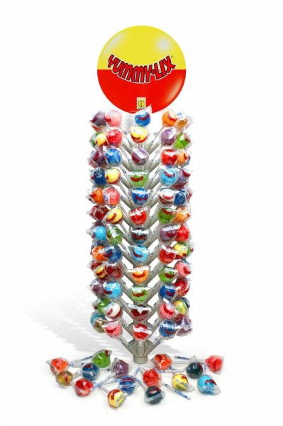 YUMMYLIX GOURMET ROUND LOLLIPOPS TREE DISPLAY