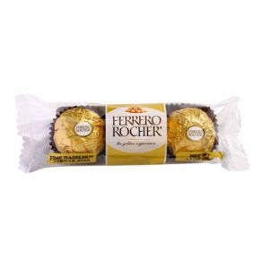 FERRERO ROCHER FINE HAZELNUT CHOCOLATES 1.3 OZ