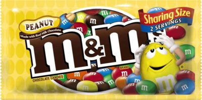 M&M PEANUT KING SIZE 3.27 OZ