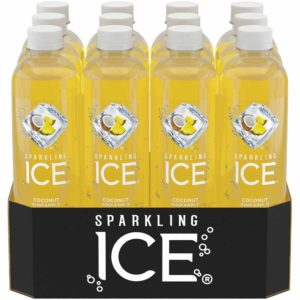 SPARKLING ICE WATER COCONUT/PINEAPPLE 17 OZ