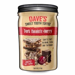 DAVE'S SWEET TOOTH DARK CHOC CHERRY 4 OZ