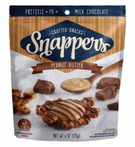 SNAPPERS PEANUT BUTTER MILK CHOCOLATE 6 OZ