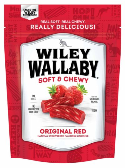 WILEY WALLABY LIQUORICE 10 OZ
