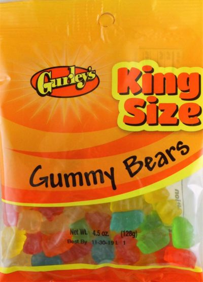 GUMMI BEARS 4.5 OZ