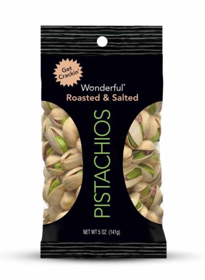 PISTACHIOS ROASTED SALTED 5 OZ