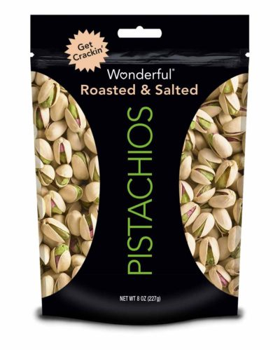 PISTACHIOS ROASTED SALTED 8 OZ