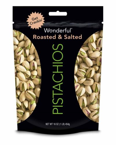 PISTACHIOS ROASTED SALTED 16 OZ
