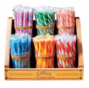 GILLIAM 6 JAR RACK FOR STICKS