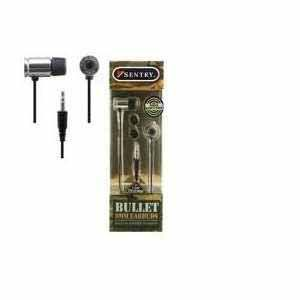 BULLETS 9MM EARBUDS GOLD & SILVER PDQ