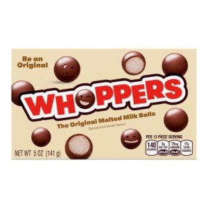 WHOPPERS 5 OZ BOX