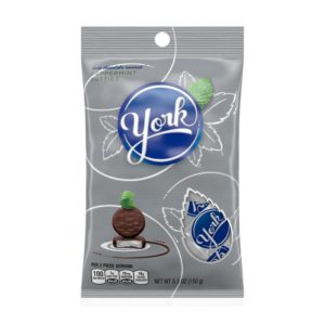 YORK PEPPERMINT PATTIE MINIS 5.3 OZ PEG BAG