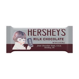HERSHEY MILK CHOCOLATE NOSTALGIA BAR 3.5 OZ
