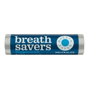 BREATH SAVERS PEPPERMINT MINTS .75 OZ