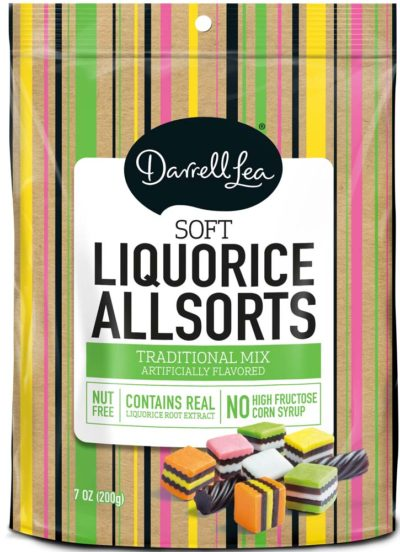 DARRELL LEA ALL SORTS LICORICE 7 OZ