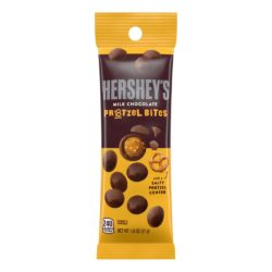 HERSHEY SNACK MIX MILK CHOCOLATE PRETZEL BITES 1.8 OZ
