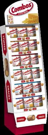 COMBOS MIXED FLAVOR SHIPPER 6.3 OZ 72 PER BOX