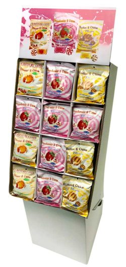 CREAMER CANDIES ASSORTED SHIPPER