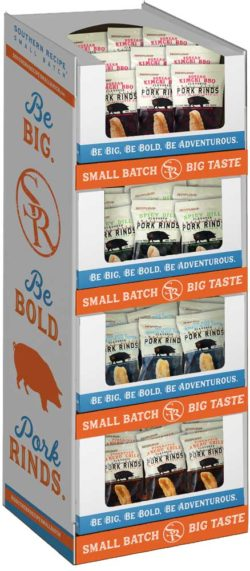 PORK RIND SMALL BATCH SOUTHERN RECIPE MIXED FLAVOR 2 OZ