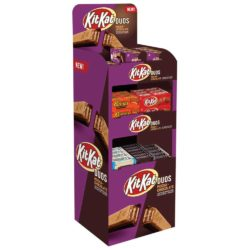 HERSHEY KIT KAT DUO MOCHA & ASSORTED BAR SHIPPER 432 PIECE
